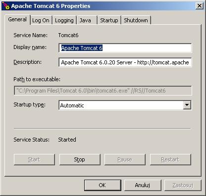 6. Instalujemy serwer Tomcat